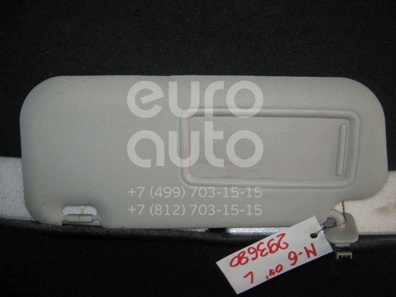 Козырек солнцезащитный (внутри) для Mazda Mazda 6 (GH) 2007-2012 - Фото №1