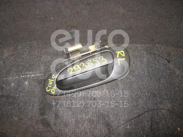 Ручка двери задней наружная левая для Honda Civic 2001-2005 - Фото №1