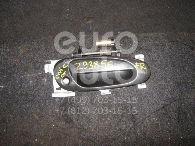Ручка двери передней наружная правая для Honda Civic 2001-2005 - Фото №1