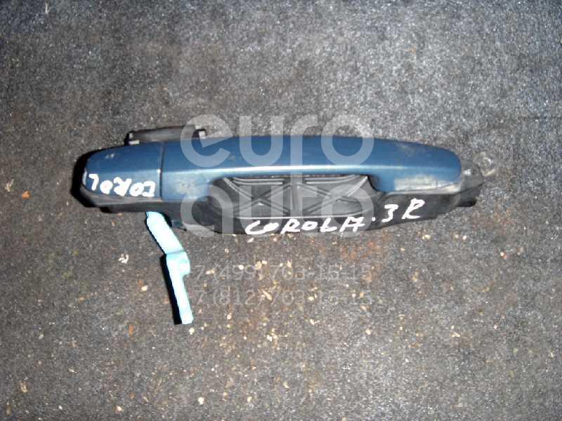 Ручка двери задней наружная правая для Toyota Corolla E15 2006-2013 - Фото №1