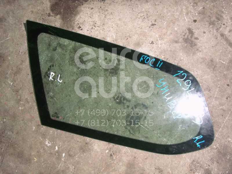 Стекло кузовное глухое левое для Ford Focus II 2005-2008;Focus II 2008-2011 - Фото №1