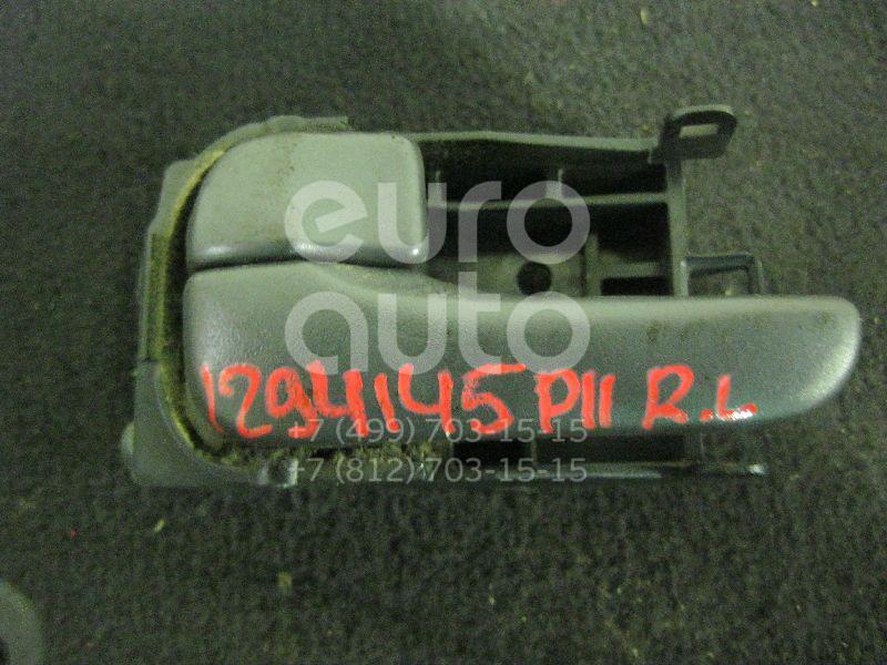 Ручка двери задней внутренняя левая для Nissan Primera P11E 1996-2002 - Фото №1