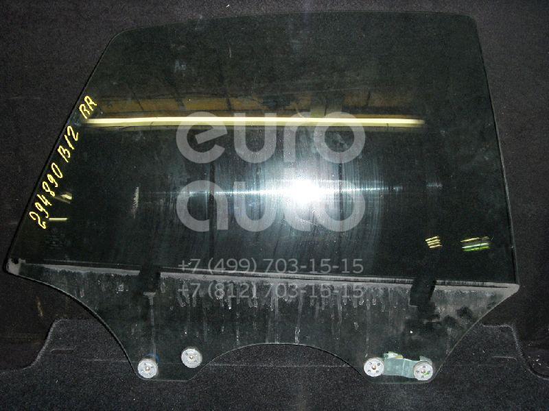 Стекло двери задней правой для Subaru Legacy (B12) 1998-2003 - Фото №1
