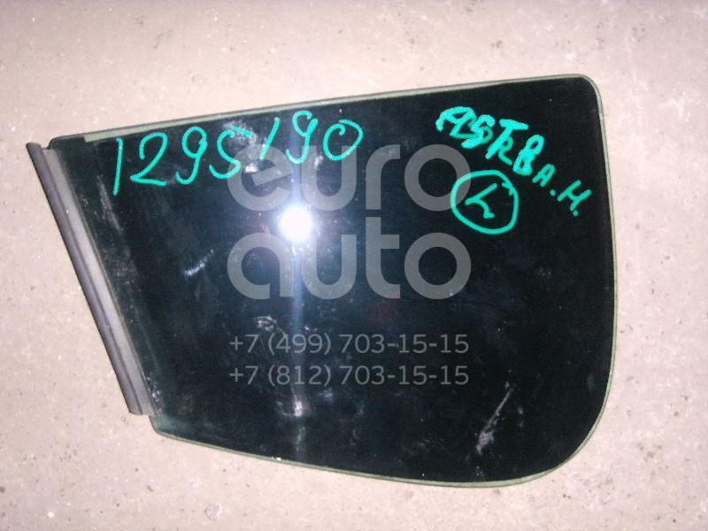 Стекло двери задней левой (форточка) для Opel Astra H / Family 2004> - Фото №1