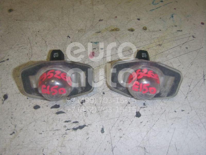 Фонарь подсветки номера для Toyota Corolla E15 2006-2013;Auris (E15) 2006-2012;Alphard 2008-2014 - Фото №1