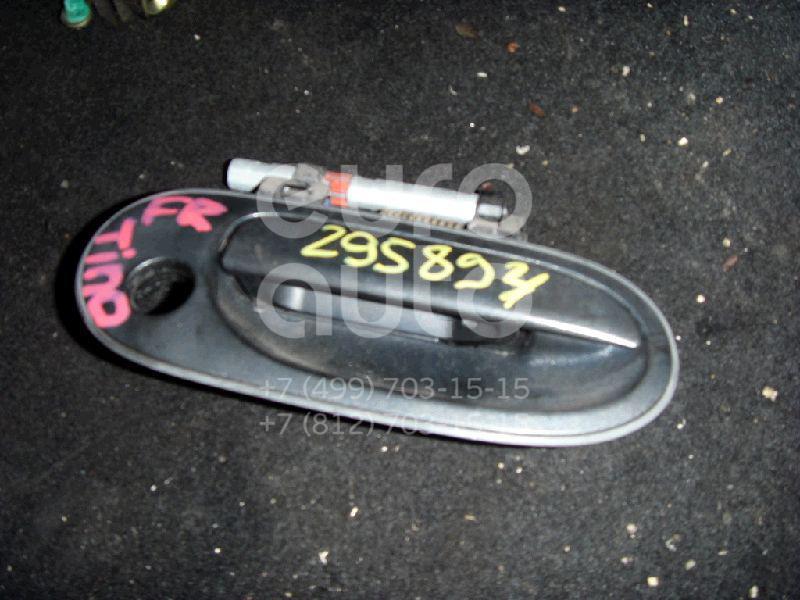Ручка двери передней наружная правая для Nissan Almera Tino 2000-2006 - Фото №1