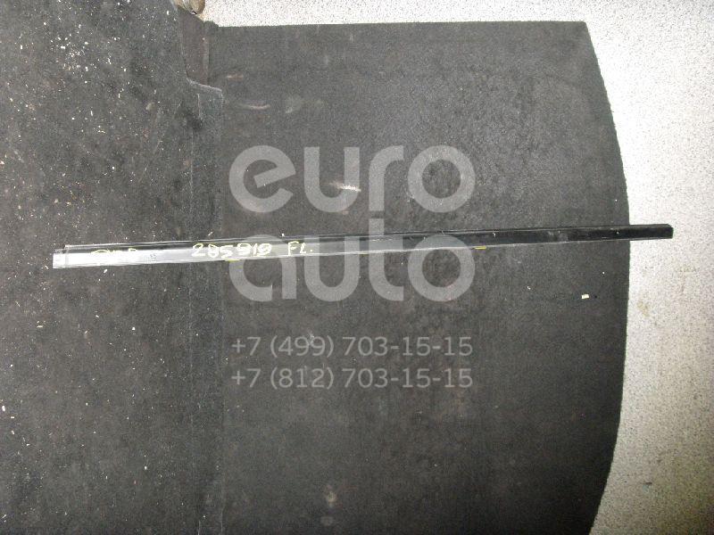 Накладка стекла переднего левого для Nissan Almera Tino 2000-2006 - Фото №1