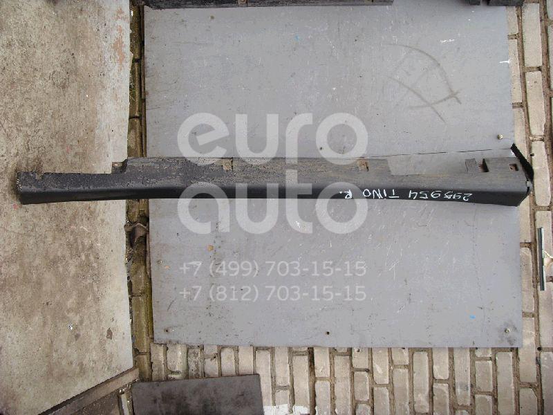 Накладка на порог (наружная) для Nissan Almera Tino 2000-2006 - Фото №1