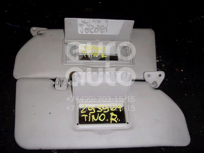 Козырек солнцезащитный (внутри) для Nissan Almera Tino 2000-2006 - Фото №1