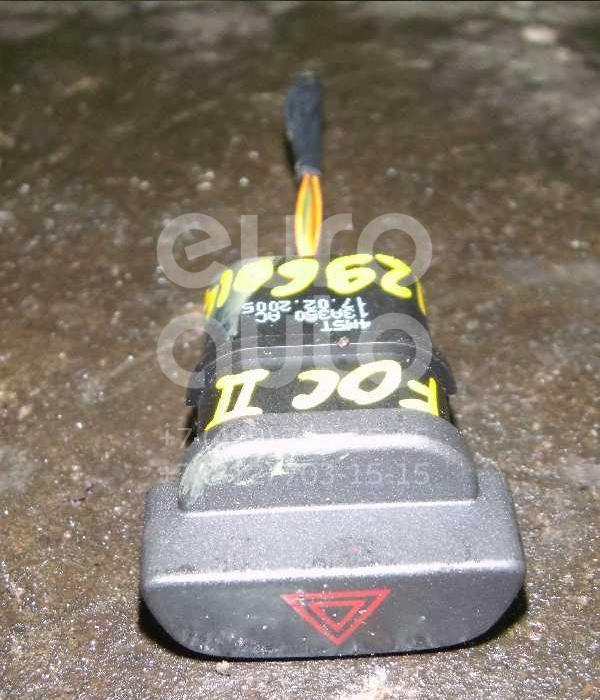 Кнопка аварийной сигнализации для Ford Focus II 2005-2008;Fusion 2002-2012;Fiesta 2001-2008;Focus II 2008-2011 - Фото №1