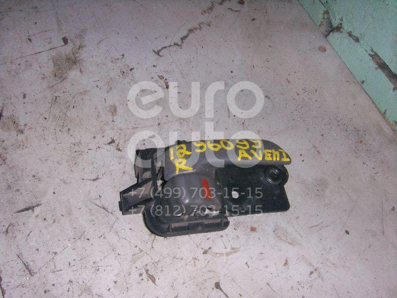 Ручка двери внутренняя правая для Toyota Avensis I 1997-2003 - Фото №1