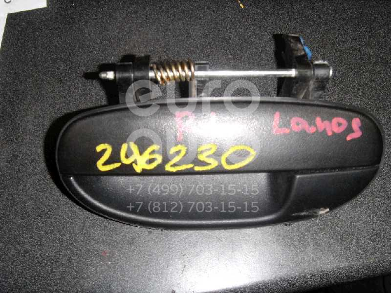 Ручка двери задней наружная левая для Chevrolet,Daewoo Lanos 2004>;Lanos 1997-2009 - Фото №1