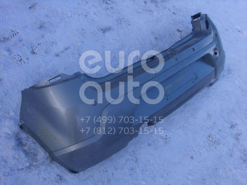 Бампер задний для Renault Sandero 2009-2014 - Фото №1