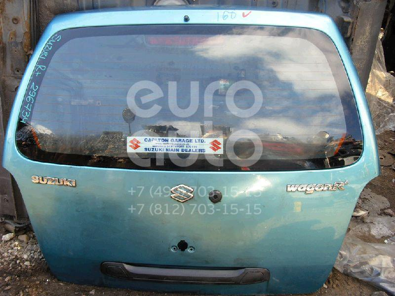 Дверь багажника со стеклом для Suzuki Wagon R+(MM) 2000-2008 - Фото №1