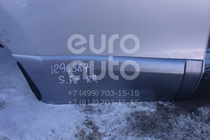 Накладка двери задней правой для Hyundai Santa Fe (SM)/ Santa Fe Classic 2000-2012 - Фото №1