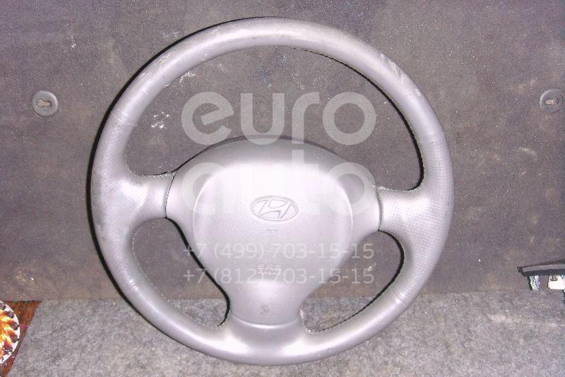 Рулевое колесо с AIR BAG для Hyundai Santa Fe (SM) 2000-2005 - Фото №1