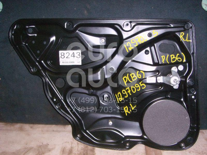 Стеклоподъемник механ. задний левый для VW Passat [B6] 2005-2010 - Фото №1