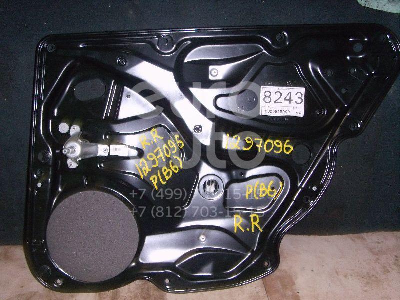 Стеклоподъемник механ. задний правый для VW Passat [B6] 2005-2010 - Фото №1