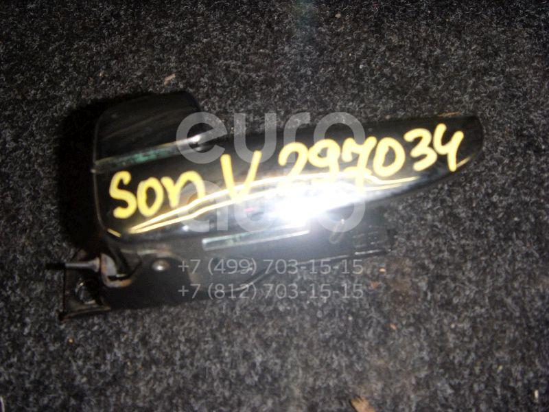 Ручка двери внутренняя левая для Hyundai Sonata V (NEW EF) 2001-2012 - Фото №1