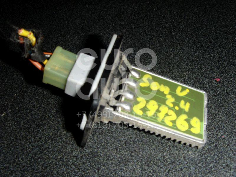 Резистор отопителя для Hyundai Sonata IV (EF)/ Sonata Tagaz 2001-2012 - Фото №1