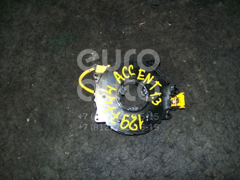 Механизм подрулевой для SRS (ленточный) для Hyundai Accent II (+ТАГАЗ) 2000-2012 - Фото №1