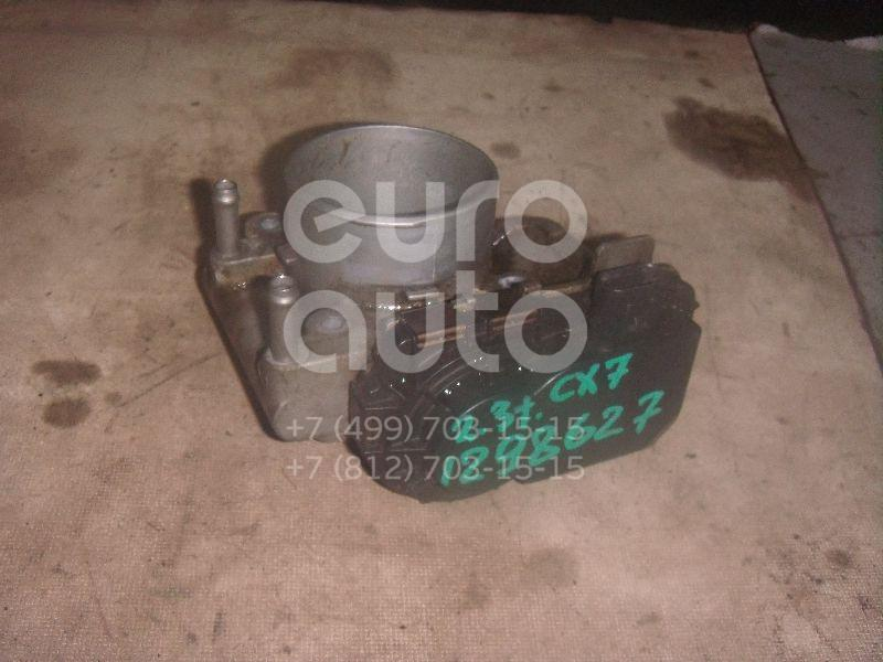 Заслонка дроссельная электрическая для Mazda CX 7 2007-2012;Mazda 6 (GG) 2002-2007;Mazda 3 (BK) 2002-2009 - Фото №1