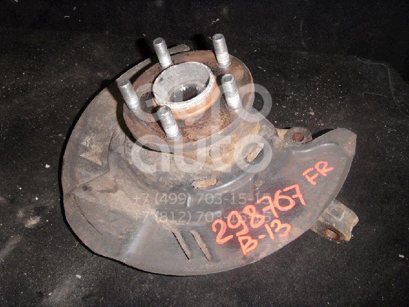 Кулак поворотный передний правый для Subaru Legacy Outback (B13) 2003-2009;Legacy (B13) 2003-2009;Impreza (G12) 2007-2012;Forester (S12) 2008-2012;Legacy (B14) 2010-2015;Legacy Outback (B14) 2010-2014;XV (G33,G43) 2011>;Impreza (G13,G23) 2012> - Фото №1