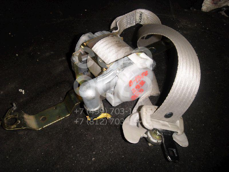 Ремень безопасности с пиропатроном для Subaru Legacy Outback (B13) 2003-2009 - Фото №1