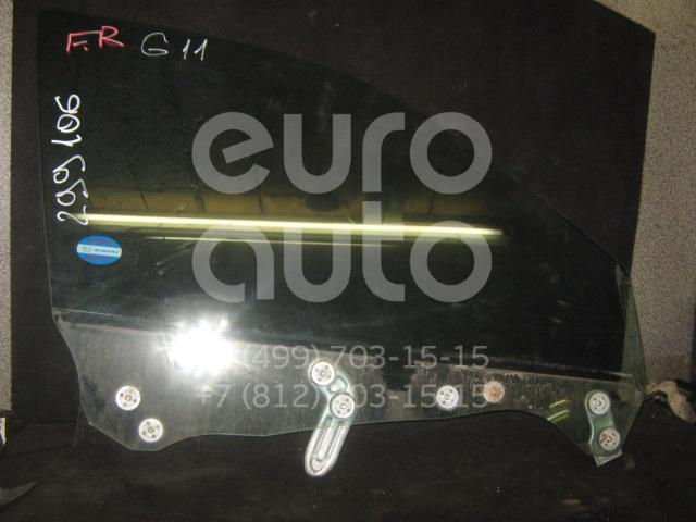 Стекло двери передней правой для Subaru Impreza (G11) 2000-2007 - Фото №1