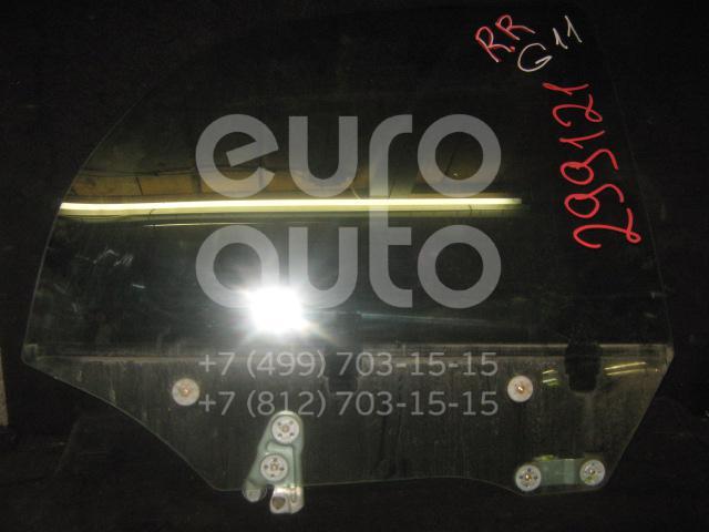 Стекло двери задней правой для Subaru Impreza (G11) 2000-2007 - Фото №1