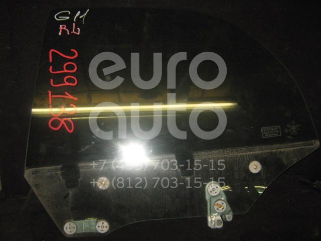 Стекло двери задней левой для Subaru Impreza (G11) 2000-2007 - Фото №1
