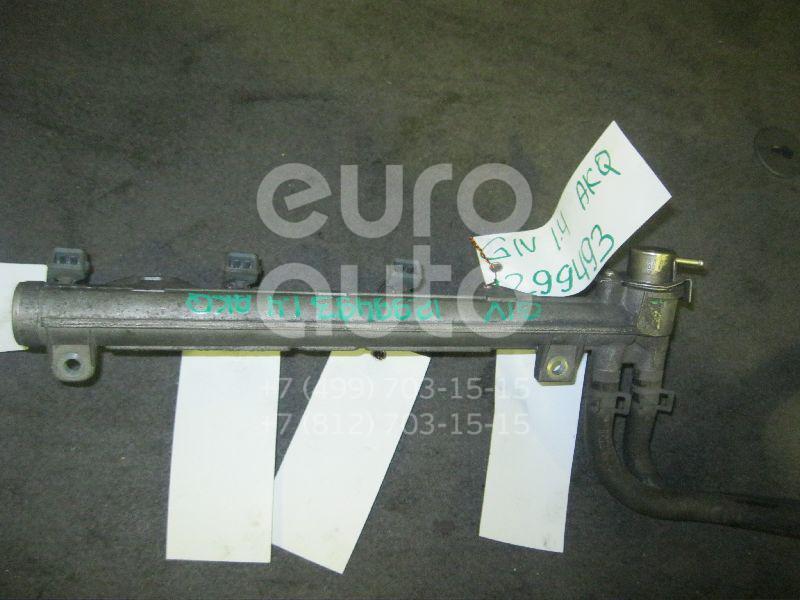 Рейка топливная (рампа) для VW,Skoda Golf IV/Bora 1997-2005;Fabia 1999-2006;Fabia 2007-2015 - Фото №1
