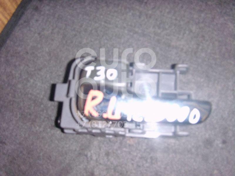 Ручка двери внутренняя левая для Nissan X-Trail (T30) 2001-2006 - Фото №1