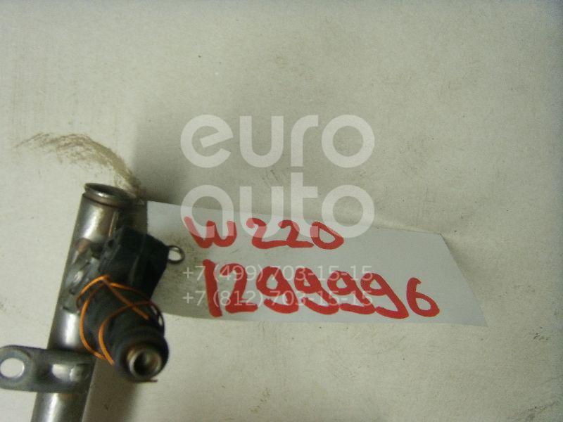 Форсунка инжекторная электрическая для Mercedes Benz W220 1998-2005;W163 M-Klasse (ML) 1998-2004;R129 SL 1989-2001;W202 1993-2000;W210 E-Klasse 1995-2000;C208 CLK coupe 1997-2002;G-Class W463 1989>;W210 E-Klasse 2000-2002 - Фото №1