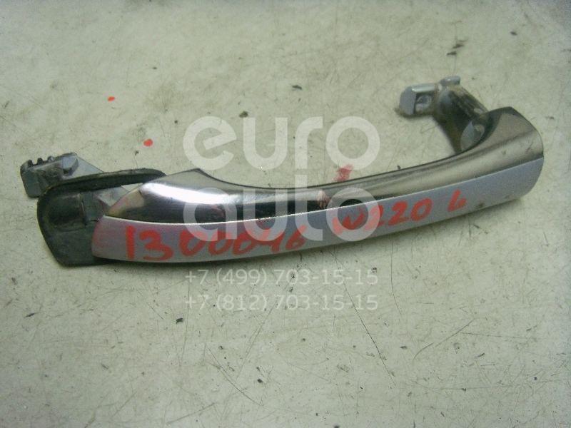 Ручка двери наружная левая для Mercedes Benz W220 1998-2005 - Фото №1