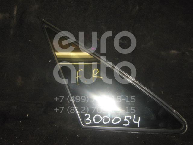 Стекло кузовное глухое правое для Toyota Avensis Verso (M20) 2001-2009 - Фото №1