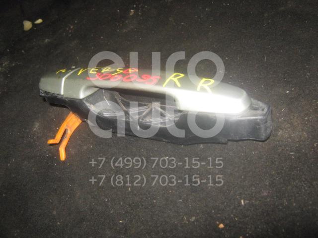 Ручка двери задней наружная для Toyota Avensis Verso (M20) 2001-2009 - Фото №1