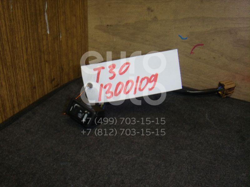 Кнопка обогрева сидений для Nissan X-Trail (T30) 2001-2006 - Фото №1