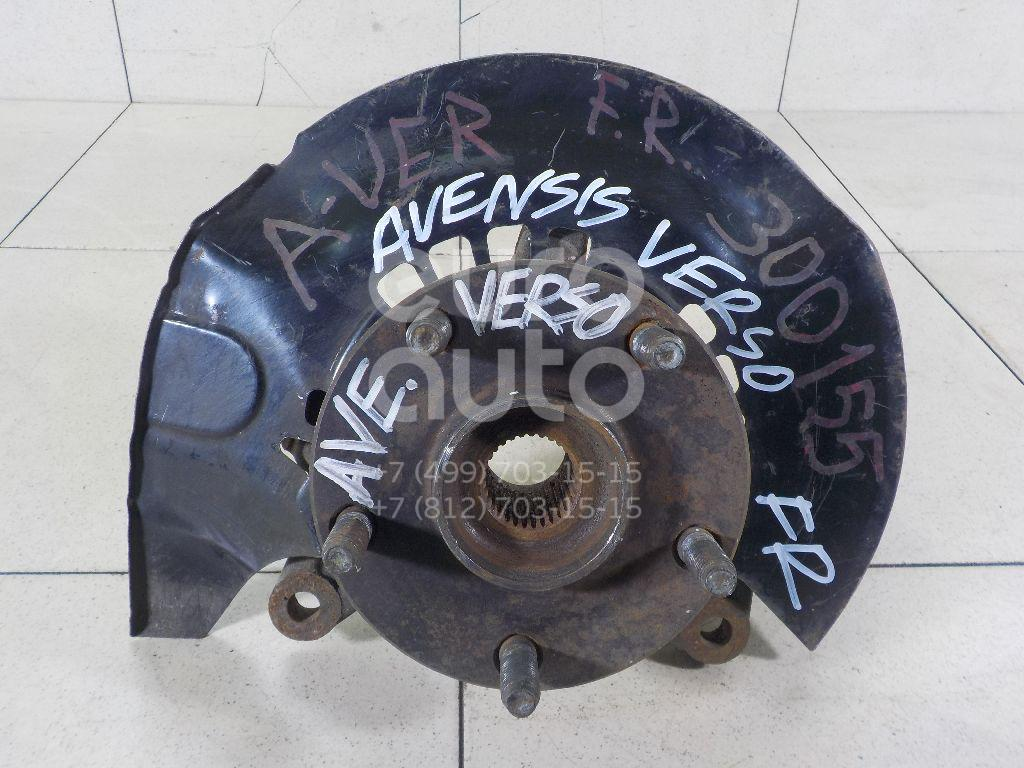 Кулак поворотный передний правый для Toyota Avensis Verso (M20) 2001-2009 - Фото №1