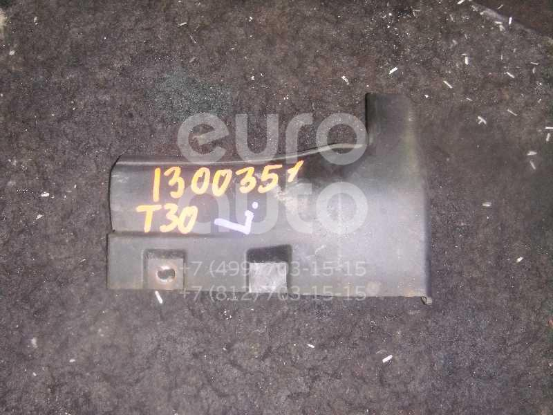 Накладка на порог (наружная) для Nissan X-Trail (T30) 2001-2006 - Фото №1
