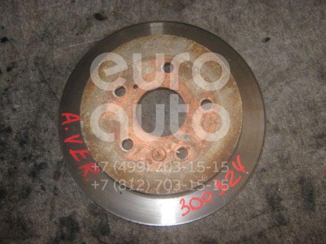 Диск тормозной задний для Toyota Avensis Verso (M20) 2001-2009 - Фото №1
