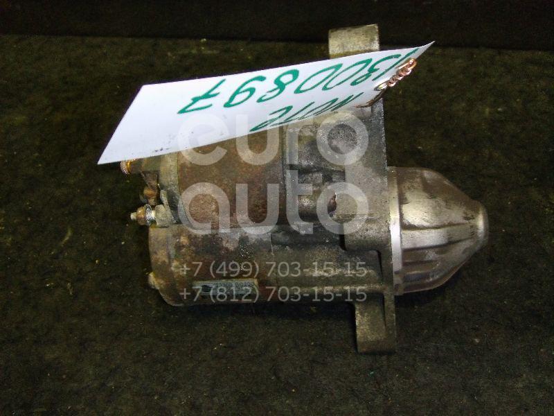 Стартер для Nissan Note (E11) 2006-2013;Micra (K12E) 2002-2010;Qashqai (J10) 2006-2014;Tiida (C11) 2007-2014;Qashqai+2 (JJ10) 2008-2014 - Фото №1