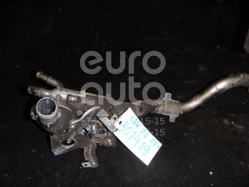 Корпус термостата для Honda CR-V 2007-2012;Civic 4D 2006-2012;FR-V 2005>;Accord VIII 2008-2013 - Фото №1