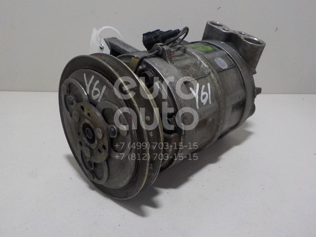 Компрессор системы кондиционирования для Nissan Patrol (Y61) 1997-2009 - Фото №1