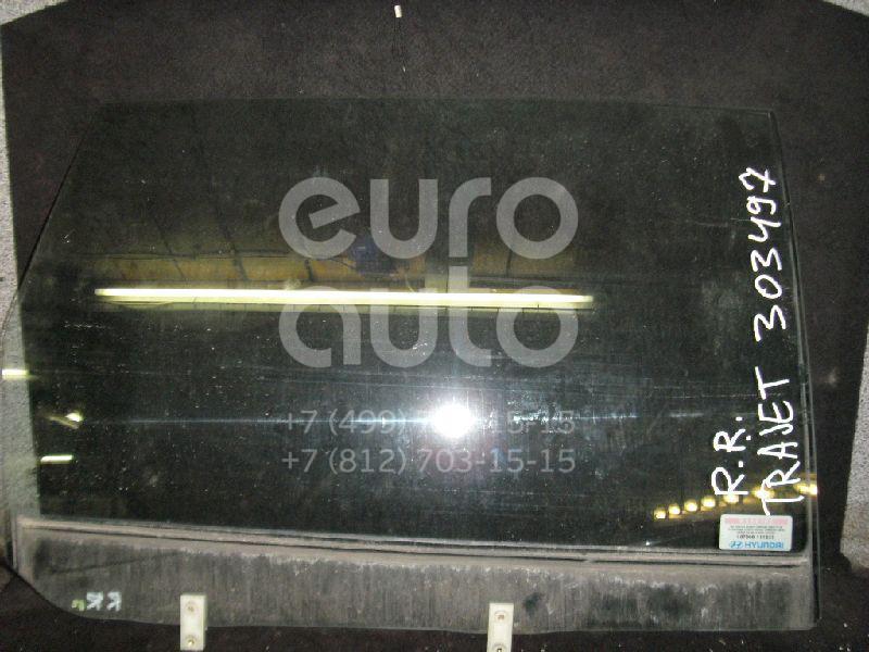 Стекло двери задней правой для Hyundai Trajet 2000-2009 - Фото №1