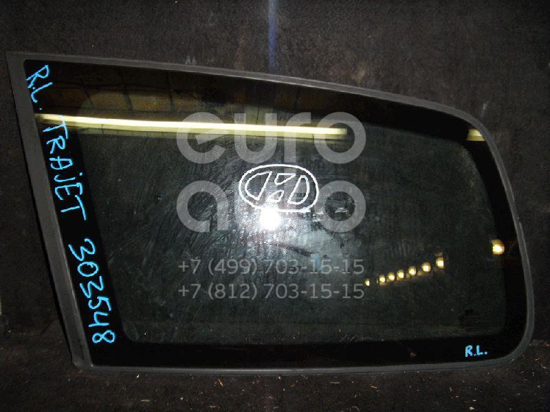 Стекло кузовное глухое левое для Hyundai Trajet 2000-2009 - Фото №1