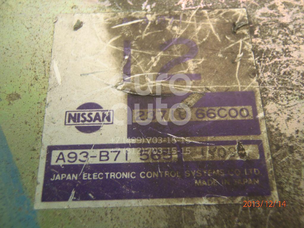 Блок управления двигателем для Nissan Sunny N14 1990-1995;Sunny Y10 1990-2000 - Фото №1