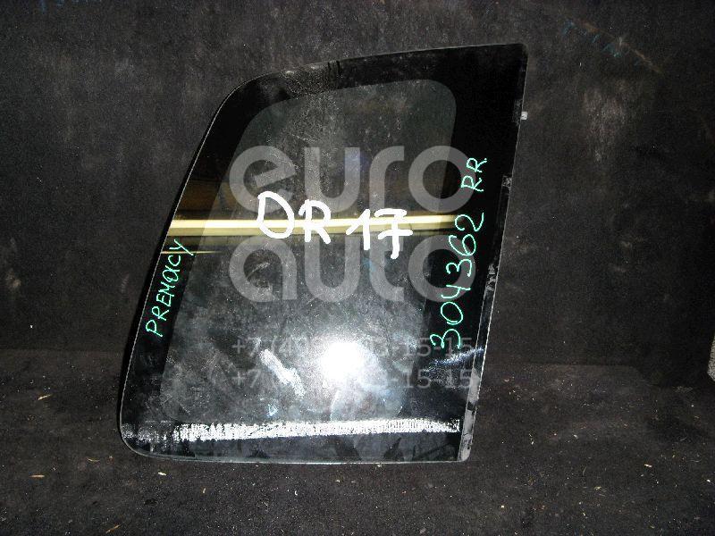 Стекло кузовное глухое правое для Mazda Premacy (CP) 1999-2004 - Фото №1