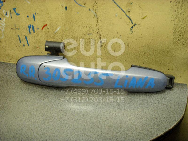 Ручка двери задней наружная правая для Suzuki Liana 2001-2007 - Фото №1
