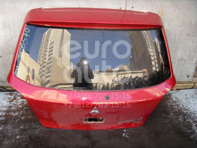 Дверь багажника со стеклом для Mitsubishi Outlander (CU) 2003-2009 - Фото №1